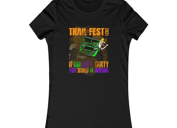 Women's Favorite Tee - Trail Fest Design 04