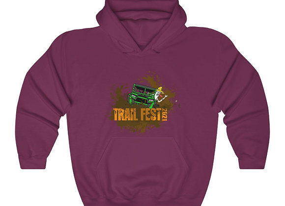 Unisex Heavy Blend™ Hoodie - Trail Fest Design 03 2 Sided Print