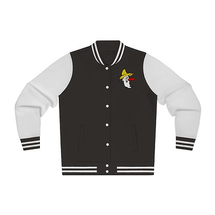 Women's Varsity Jacket - Poppy Mtn Design 03