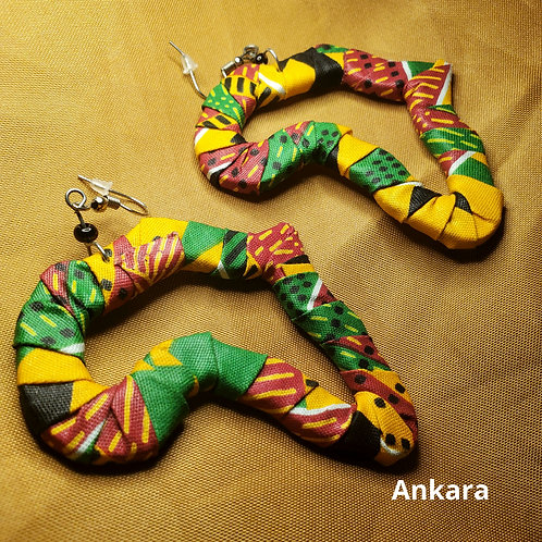 Kitenge & Ankara Africa Earrings
