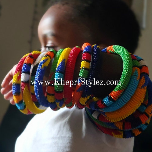 Zulu Bead Bracelets