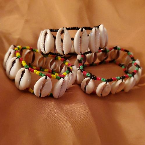 Cowrie Shell Bracelets/ Anklets