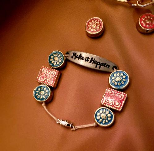"""Make It Happen"" Bracelet"