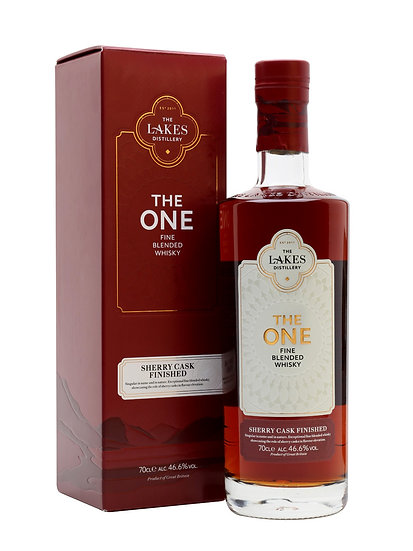 The Lakes The One Sherry Cask Finished Whisky