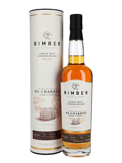 Bimber Recharred Cask Single Malt Whisky Batch #1