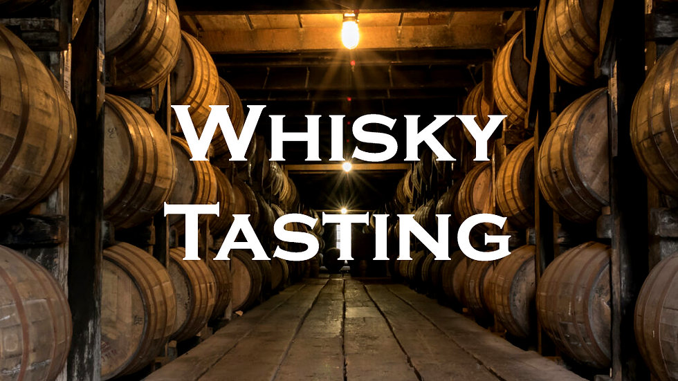Father's Day Whisky Tasting, Sunday, 20th of June, 12pm