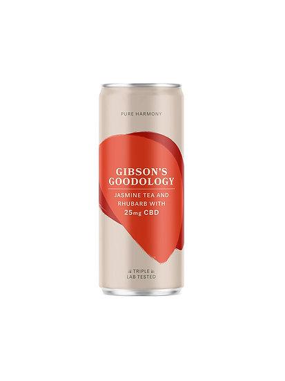 Gibson's Goodology Pure Harmony Jasmine Tea & Rhubarb CBD Drink