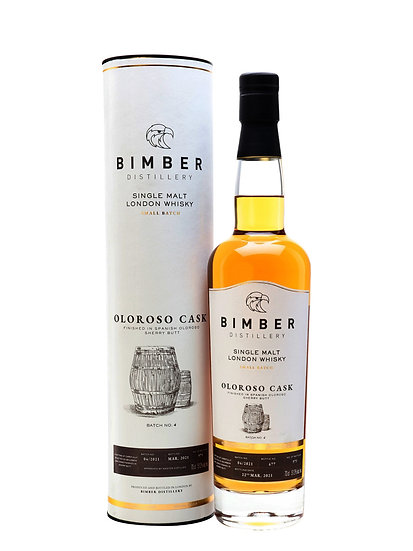 Bimber Single Malt Whisky Oloroso Cask Finish Batch #4