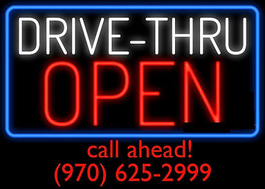 Drive-Thru-Open-Neon-Sign-Custom-Neon-Si