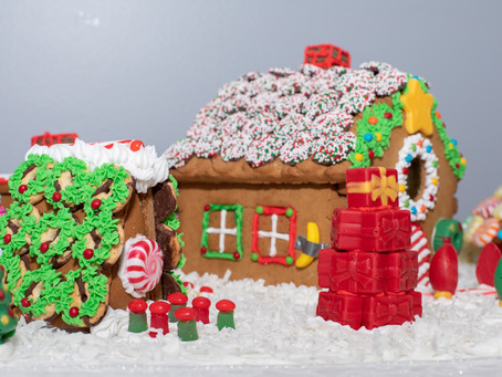 Happy New Year, Gingerbread House Competition, Results Are In!