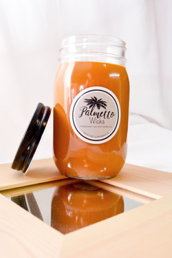 Warm Banana But Bread 16oz Mason Jar
