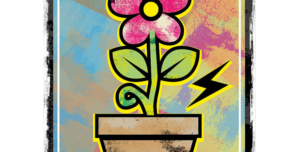 Blooming graphic