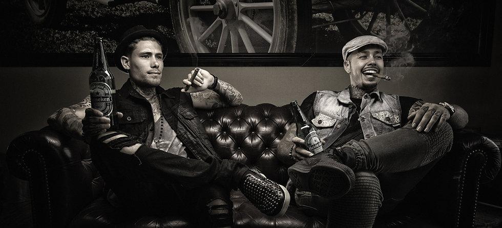 Mathieu et Sam, les co-propriétaires