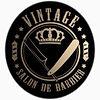 Vintage Salon de Barbier logo
