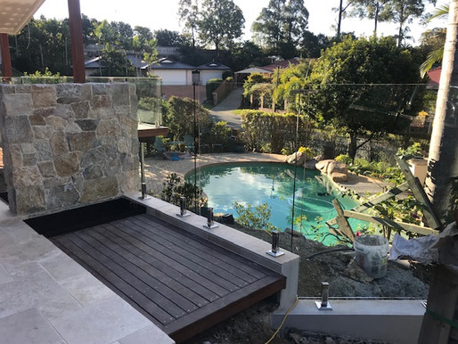 Sunshine Coast winter looks pretty special through Frameless Glass Pool fencing