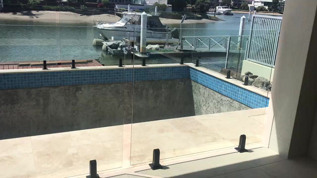 Canal life Frameless Glass Pool Fencing