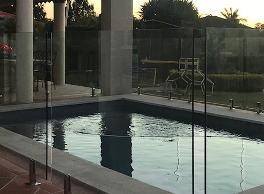 Glass Pool Fencing allows for Stunning views