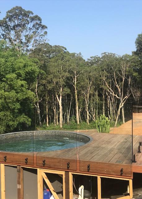 glass fence palmwoods STC