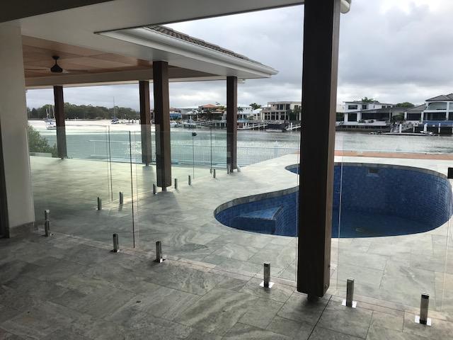 Pool Fence Glass Minyama STC