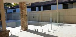 glass fence pool STC