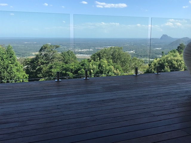 Mount Mellum Glass Balustrade