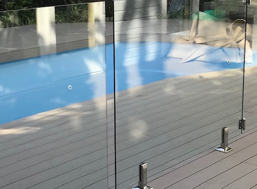 Perfect Choice Frameless Glass Pool Fencing