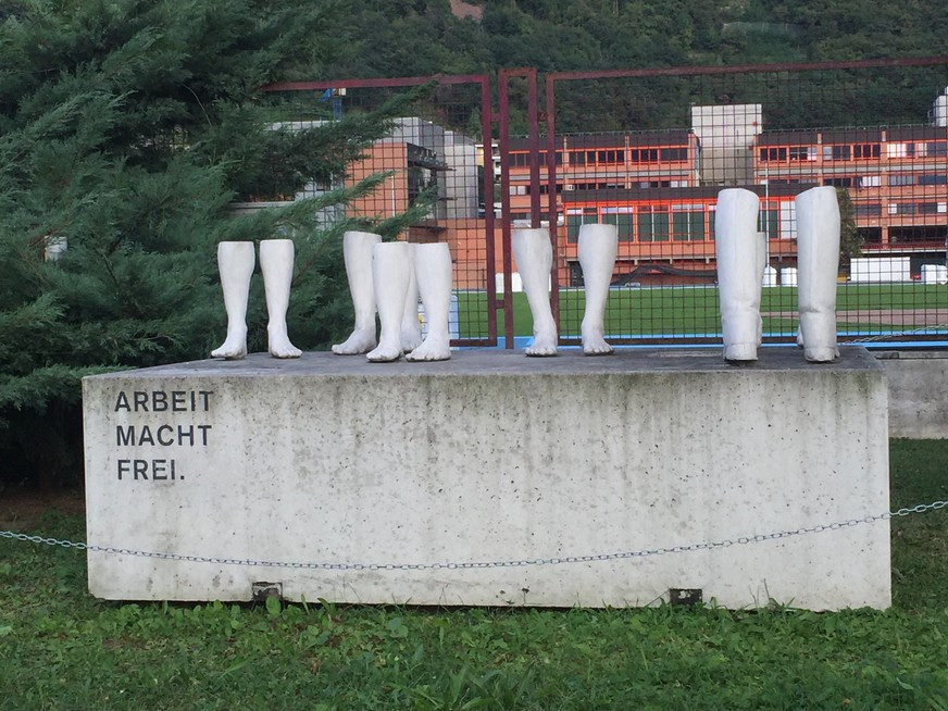 Forced Labor Memorial in Bolzano