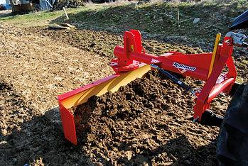 Rabaud grader blade with sides, grader blade, track maintenance,