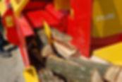 firewood processor, 4 way knife, Rabau firewoo processor, woodfuel, biomas, RHI