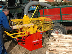 Rabaud post peeler, manual peeler, round wood fencing