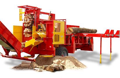 Rabaud xylog 600 firewood processor, rabaud firewood processor, large firewood