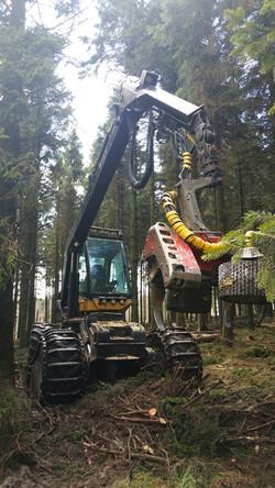 Eco-log 590C with logmax 7000 head