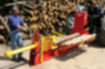 Rabaud poly compact horizontal log splitter, Log splitter, firewood splitter, Rabad log splitter, Cleft fencing, cleaving splitter