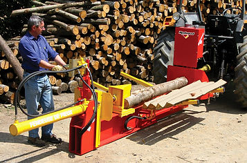 Rabaud poly compact horizontal log splitter, Log splitter, firewood splitter, Rabad log splitter, Cleft fencing, cleaving splitter