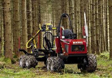 alstor 821, mimiforwarder, mini-forwarder, low impact forestry, SSSI forestry, responsible forestry, timber extraction, low ground pressure forwarder