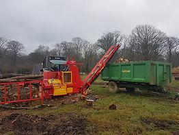firewood 10m3 load