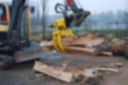 cone splitter, excavator log splitter, hydraulic cone splitter