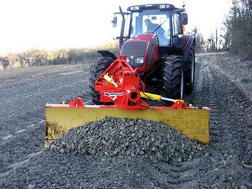 Rabaud grader blade, road grader blade, track grader, grader, farm track restoration, forest track