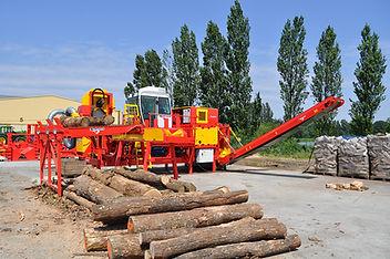 Rabaud Xylog 520 firewood processor
