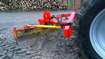 forest track grader blade