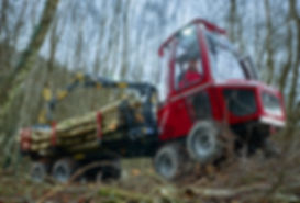 Alstor 833 mini forwarder, mini-forwarder, low impact forestry, SSSI forestry, wildlife forestry, responsible forestry, sensitive forestry machinery, low impact