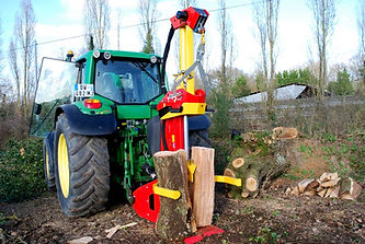 Rabaudlog splitter, log splitter, firewood machinery, Xylofarmer, logs