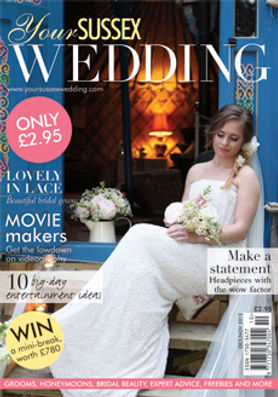 Knelle Dower Studio featured in Sussex Wedding Magazine