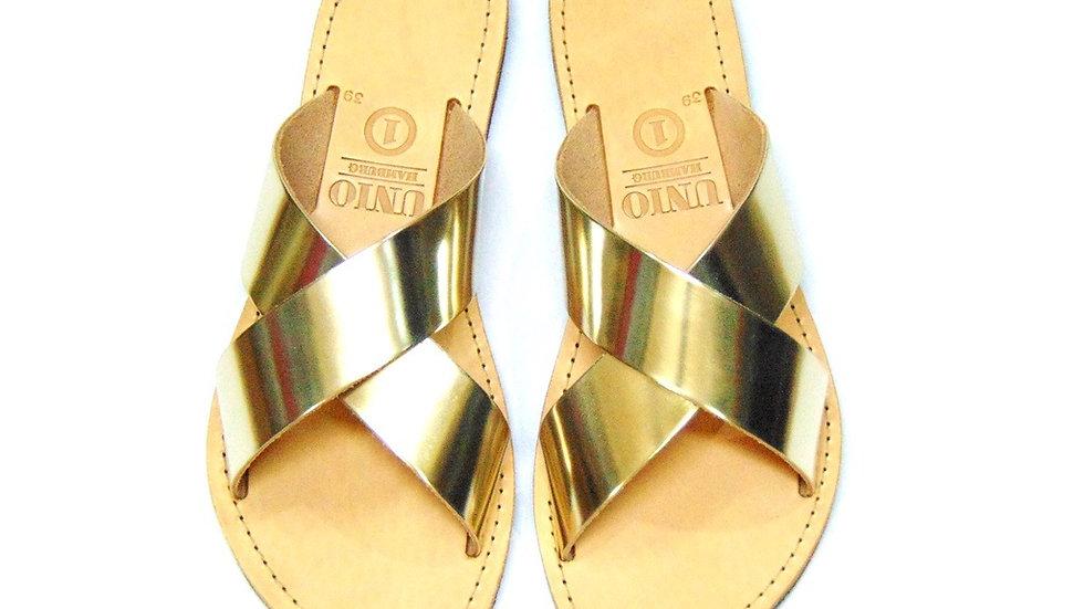 UNIO Hamburg Sandale - IRO Gold