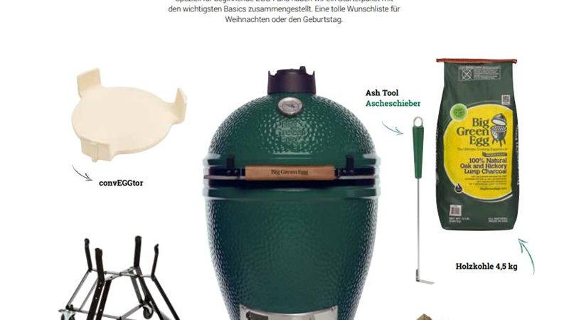 Big Green Egg Starter Paket Large