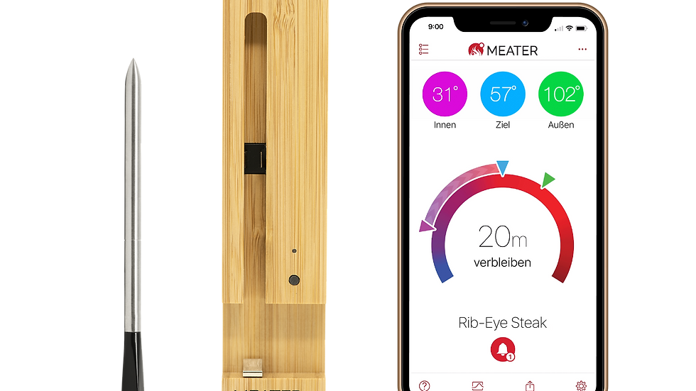 MEATER Plus mit Bluetooth Repeater