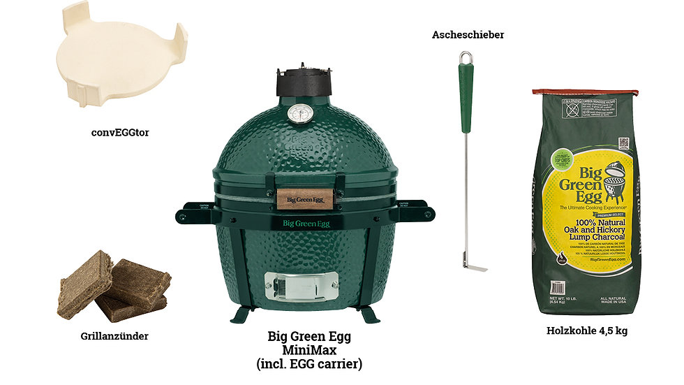 Big Green EGG Starter Paket Mini Max