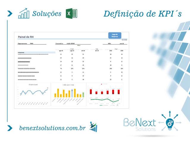 Soluções BeNext - Definição de KPI's