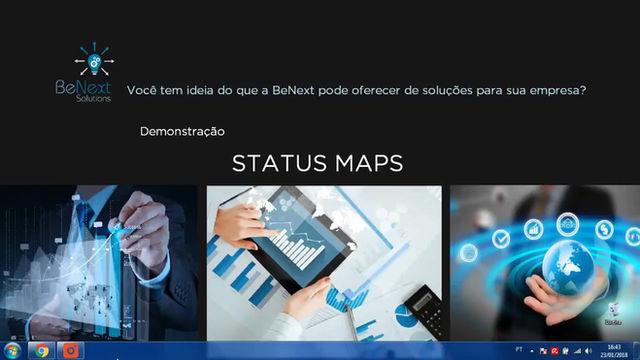 Soluções BeNext - Status Maps