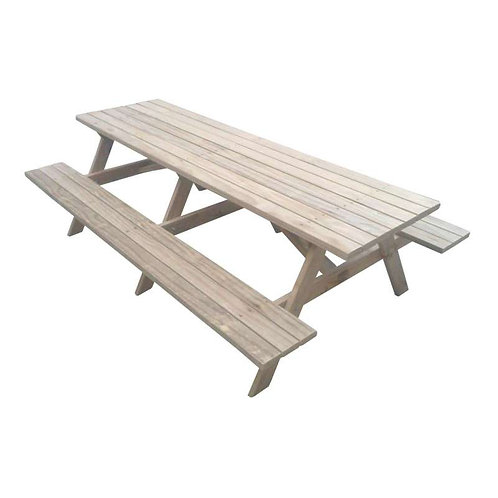 2.4mtr Adults Kiwi Classic BBQ Table / Picnic Table